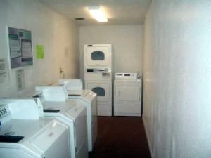 Laundry room at Sunny Bank